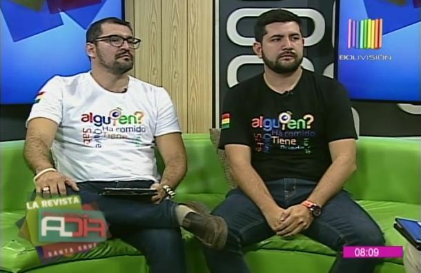Creadores de 'Alguien' conversaron de 'app' boliviana