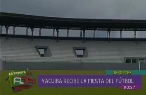 Yacuiba recibe la fiesta del fútbol