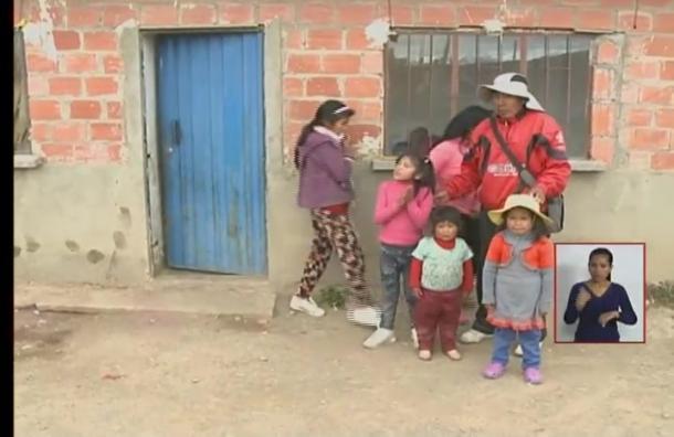 Estudiantes se suman a a campaña de ayuda a padre con 7 hijos
