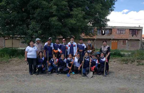 Desdes Cochabamba en la provincia Punata.