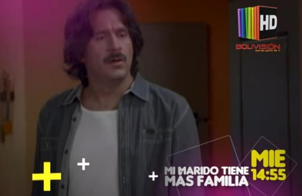 """Este miércoles 8 en   """"mi marido tiene mas familia"""""""