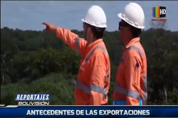 """""""Reportajes Bolivision"""" antecedentes de las exportaciones en Bolivia"""