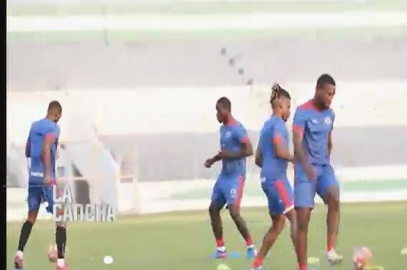 Bolivia se prepara en Santa Cruz para el amistoso con Haití