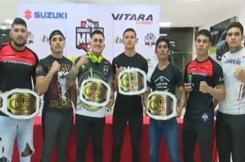 Suzuki es patrocinador de artes marciales mixtas