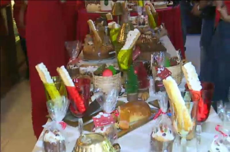 Fridolin presentó sus productos navideños