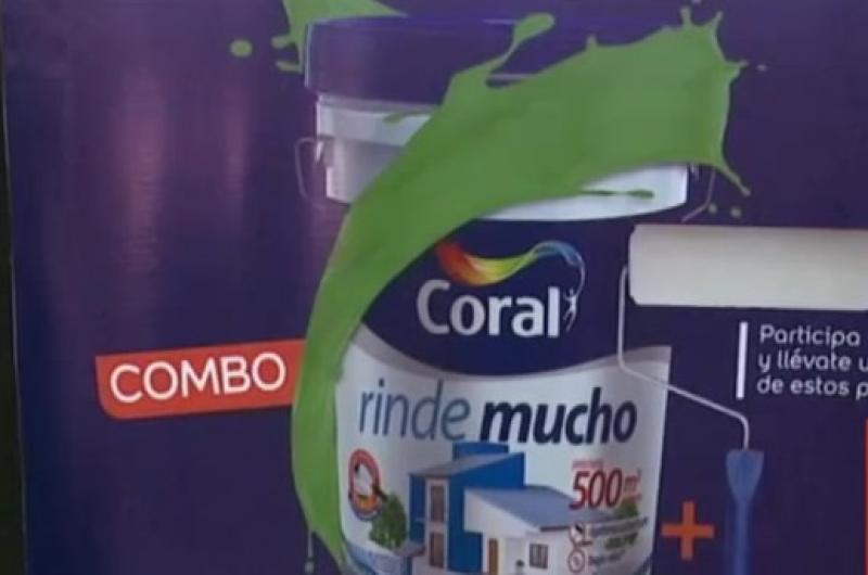"""Pinturas Coral junto a El Deber realizaron el sorteo de la campaña """"A Todo Color"""""""