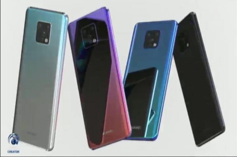 Huawei presentó el Mate 30 pro
