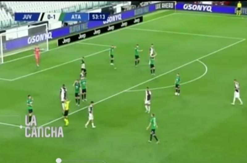 Cristiano volvió a salvar a la Juventus