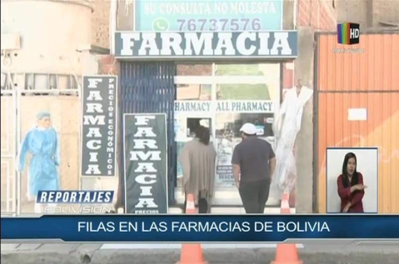Filas en las farmacias de Bolivia ¿qué está pasando?