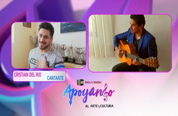 Bolivisión Arte y Cultura   Cristian Del Río