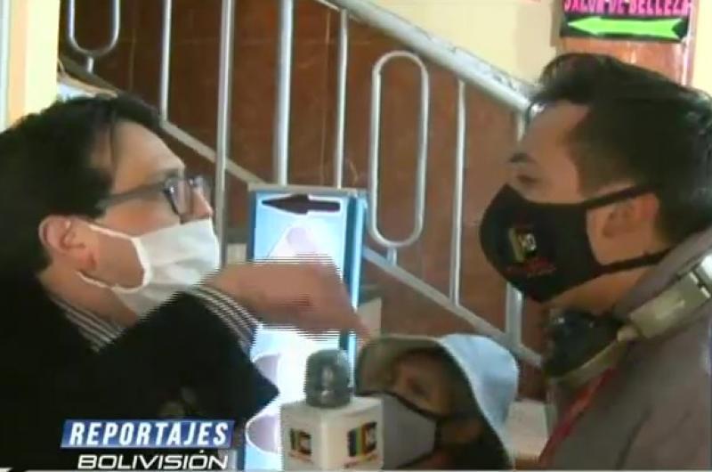 Un abogado a los gritos en El Alto