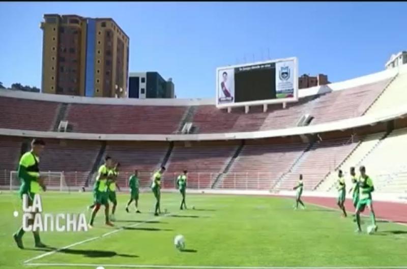 Selección boliviana entrena en La Paz