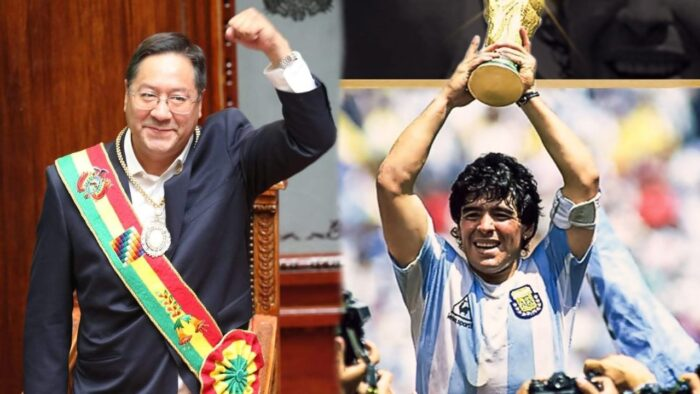 Luis Arce Maradona