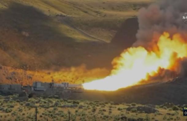 Así la NASA probó su cohete más poderoso del mundo: fue todo un éxito