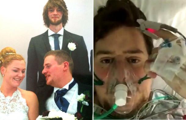 Tuvo cáncer, sufrió un accidente, un infarto al corazón y su esposa le fue infiel con su padrino de bodas