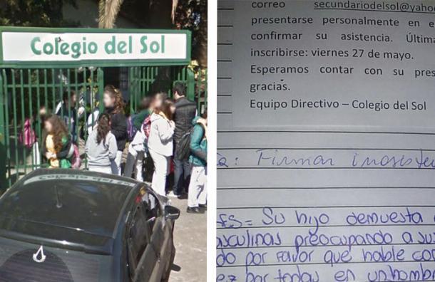 La directora de esta escuela envió un comunicado que cualquier padre repudiaría
