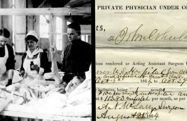En 1887, los doctores obligaban a hacer esto a las enfermeras. ¿Puedes creerlo?